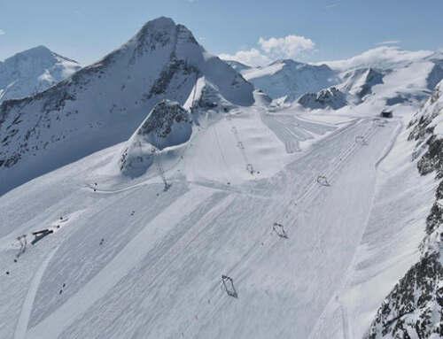 Pasen op de Kitzsteinhorn Gletsjer