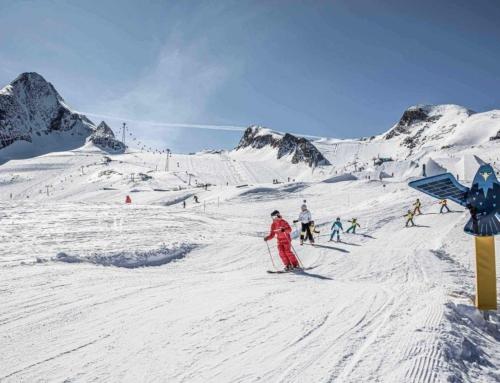 Paasaanbieding: skilessen voor kinderen bij skischool Kitzsteinhorn
