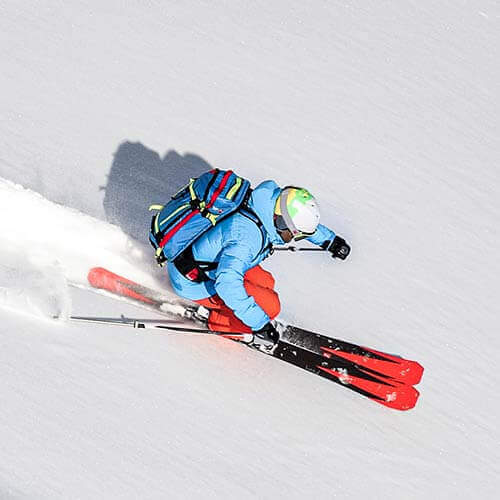 Produktdetailseite Ski-Set Superior