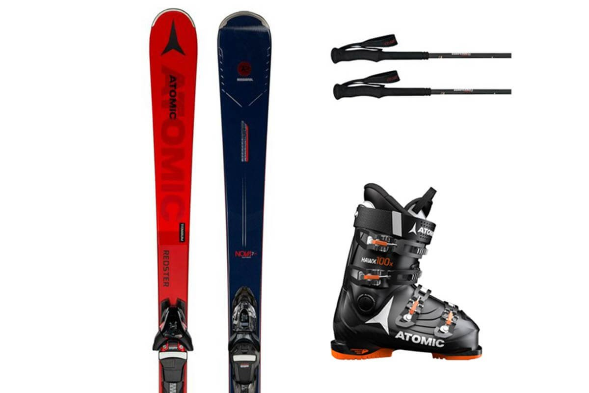 10% rebate: ski rentals in Kaprun and on the Kitzsteinhorn