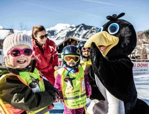 Kinderskikurse in der Skischule Kaprun