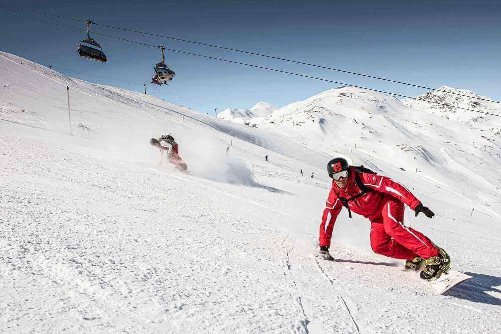 Snowboard plezier