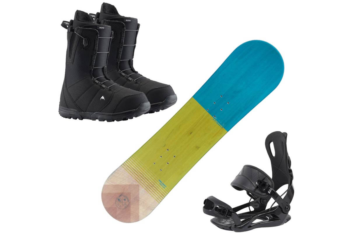 Ski rentals and snowboard rentals for children 15 and under