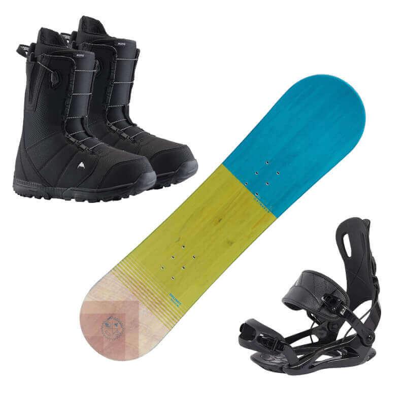 Snowboardverleih Kinder Kaprun