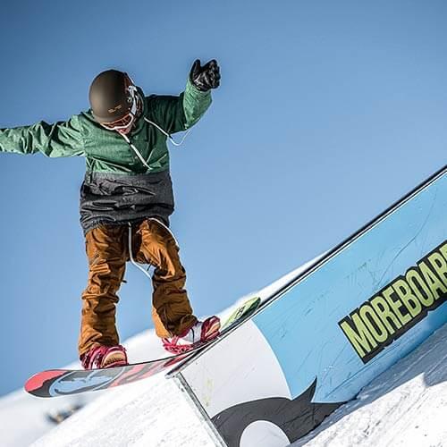Produktdetailseite Snowboardverleih Kids (7 – 15 Jahre)