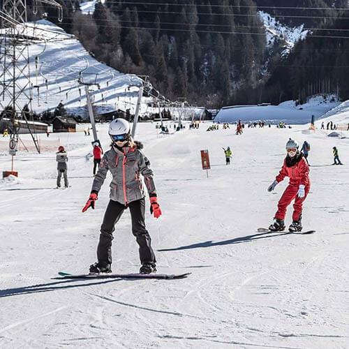 Produktdetailseite Snowboard-Set Teens
