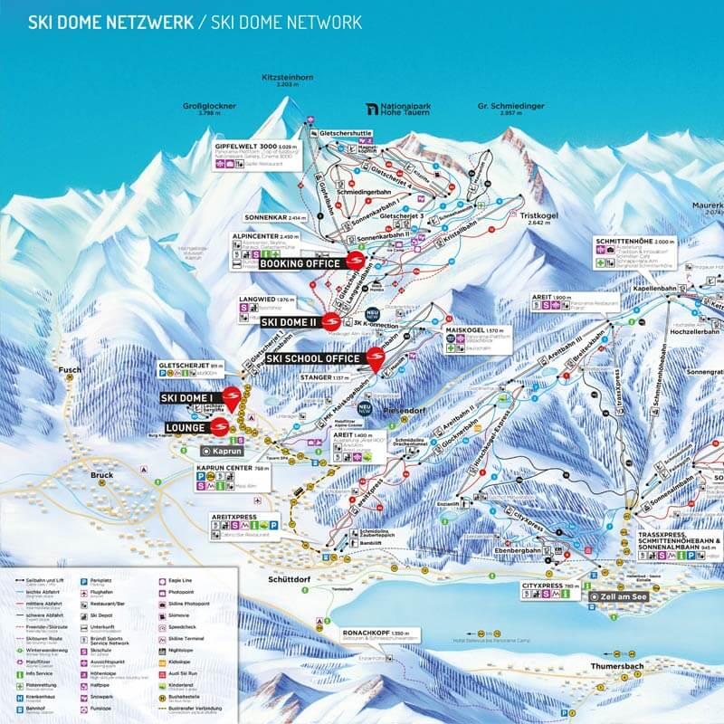 Skischule Oberschneider Standorte
